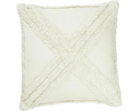 Sarah tyynynpäällinen luonnonvalkoinen 45 x 45 cm
