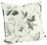 Mabelle Cushion cover 50x50 off  white/green
