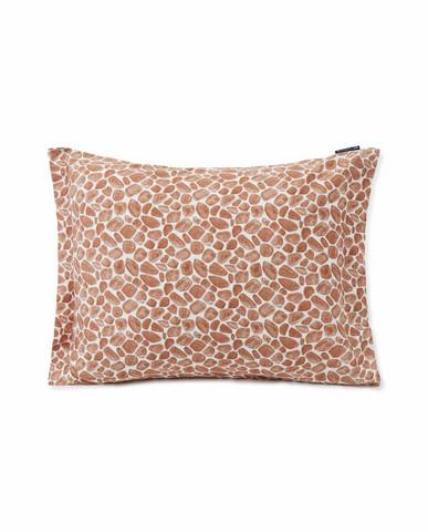 Printed Giraffe Organic Cotton Pillowcase 50x60