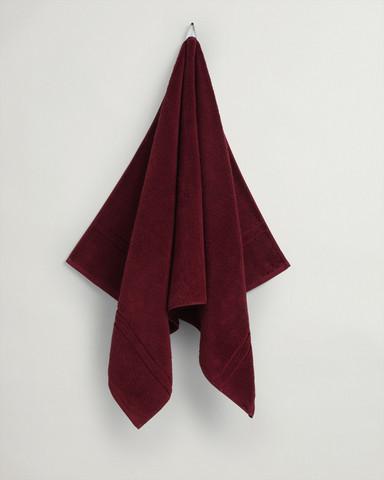 Organic Cotton Premium Towel Carbernet Red
