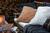 Quilted Cotton Velvet Pillow Cover 50x50 Dark beige