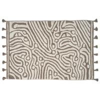 Maze Bath mat 60x90 taupe