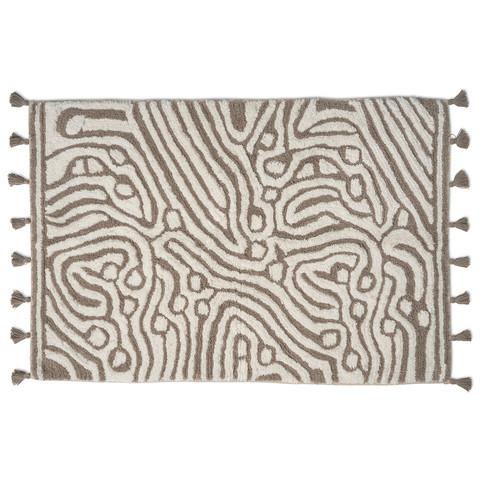 Maze Kylpyhuoneenmatto 60x90 Taupe