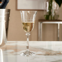 Lovely Bow Wine Glass