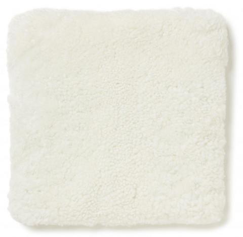 Curly Pad 40 x40 cm white