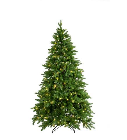Joulukuusi  led-valoilla 240 cm