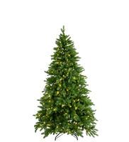 Christmas tree with LED lights 210 cm