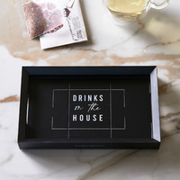 Drinks On The House Mini Tray 19x12