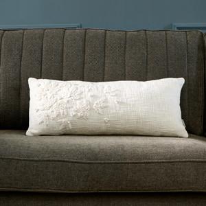 Folk Knit Flower Box Pillow 70x30