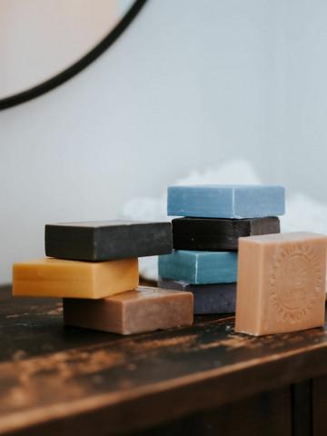 Marseille soap by Lempi Sandal wood