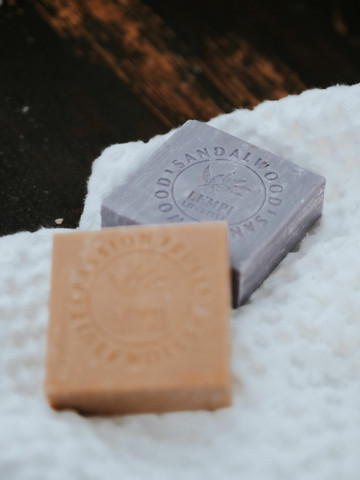 Marseille soap by Lempi Chocolate