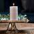 Pillar Candle ECO flax 7x13