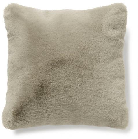 Fluffy tyynynpäällinen taupe 45 x45 cm