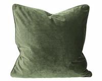 Elise samettityyny 45x45 Sammalen vihreä