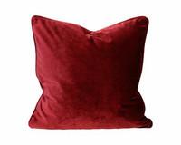 Elise samettityyny 45x45 Punainen