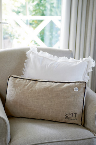 Sylt Box Pillowcover 60x30 flax