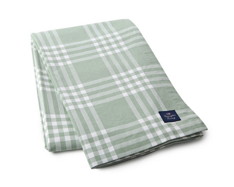 Checked Tablecloth Green