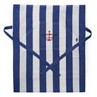 Lexington Striped Apron low Blue