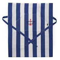 Lexington Striped Apron low Sininen