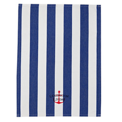 Lexington Striped Kitchen towel blue