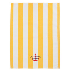 Lexington Striped Kitchen towel Yellow