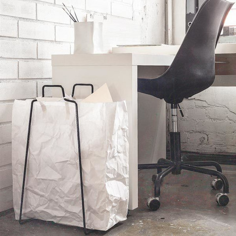 Everyday Design Helsinki Paper bag holder Black
