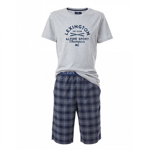 Otto Pajama L Blue/grey