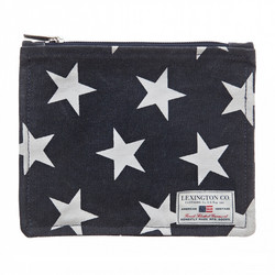 One mile bag Blue star print