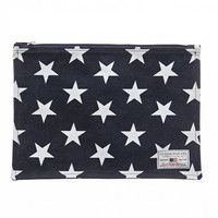 Two mile bag Blue Star print