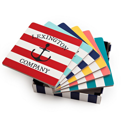 Lexington Paper coaster set