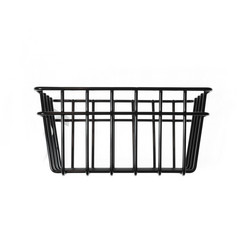 Metal wire basket Black XS