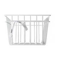 Metal wire basket White S