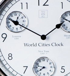 World Cities Clock