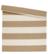 Board rug 80x250 Beige/white