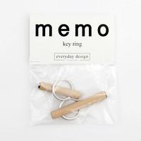 Memo keychain 2pcs