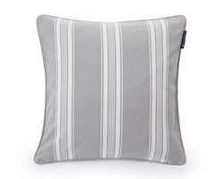 Ticking Striped Sham grey 50x50