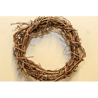 Willow wreath 16cm