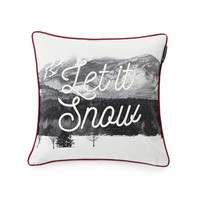 Photoprint Snow Sham 50x50 White