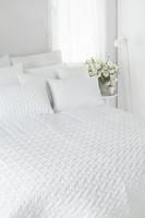 Belinda puolipeite valkoinen 130x260