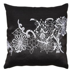 Dolce Vita Cushion 42x42 Black
