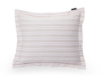 Pink Striped Sateen Pillowcase