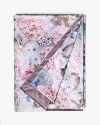 Diana Throw pastel flower bud/roosa 125x170