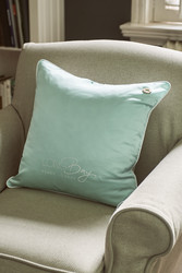 Long Bay Pillow Cover blue 50x50