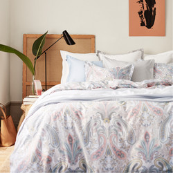 Key West Paisley Duvet Multicolor