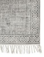 Twilight Cotton carpet Grey 160x230