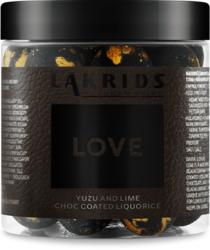 SMALL LOVE YUZO & LIME CHOC COATED LIQUORICE