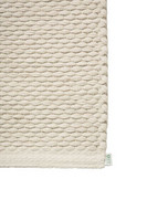 EKO Cotton paper string mat Off-White-Flax