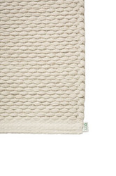 EKO Cotton paper string mat Off-White-Flax