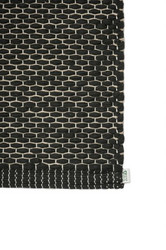 EKO Cotton paper string mat Black-flax