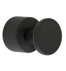 House Towel knob set 19mm Black